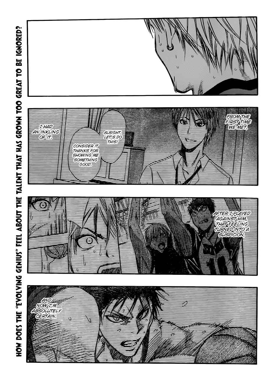 Kuroko no Basket Manga Chapter 190 - Image 01
