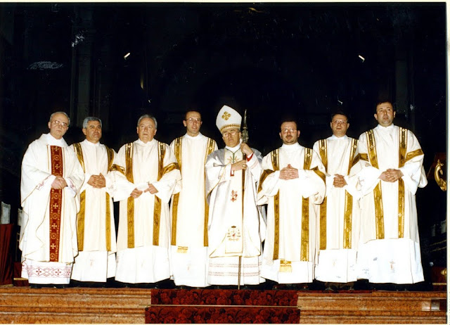 I diaconi ordinati l'8 gennaio 1994
