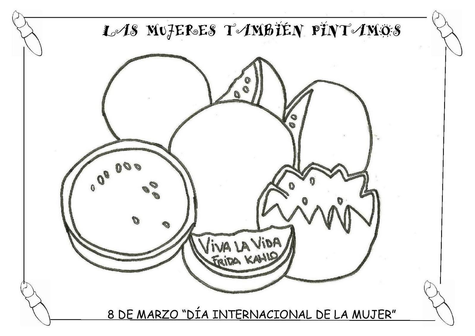 Imagenes De Frida Kahlom Para Colorear: A MÍ ME GUSTA EL COLE: Marzo 2011