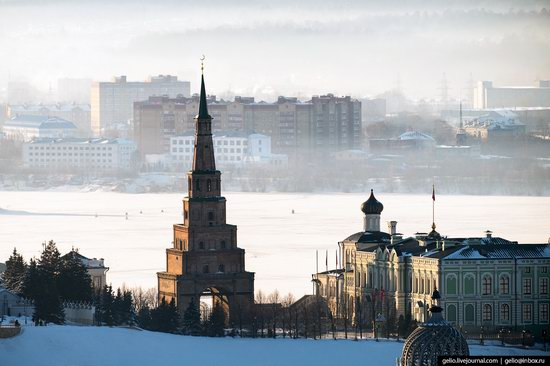 Winter in Kazan, Russia - the view from above, photo 5