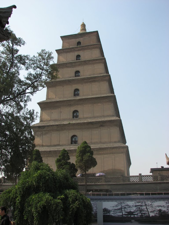 La grande pagode de l'oie sauvage.