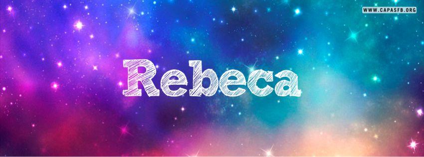 Capas para Facebook Rebeca