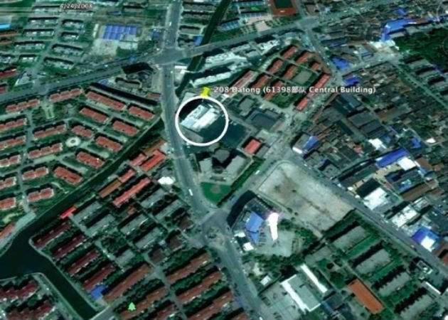 Fotografía aérea del lugar donde China podría estar mandando ataques mediante hackers militares