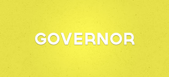 governor font