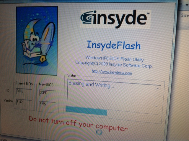 insydeflash windows bios flash utility download