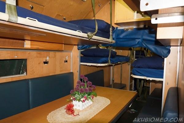 bilik rehat anak kapal selam