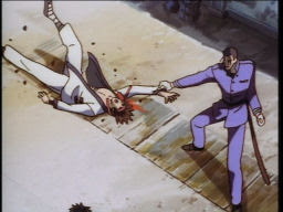 Hajime's kinda a butt-kicker.