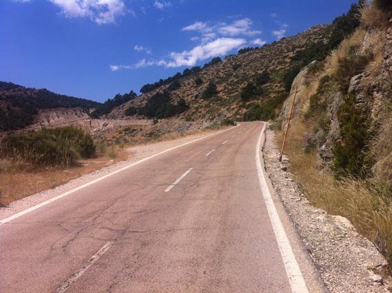 M611,de Miraflores de la Sierra a Rascafría. Subida al puerto de La Morcuera