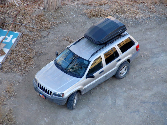 Grand Cherokee from above