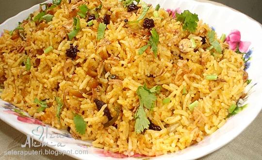 Nasi Beriani | Singgahsana Kitchen
