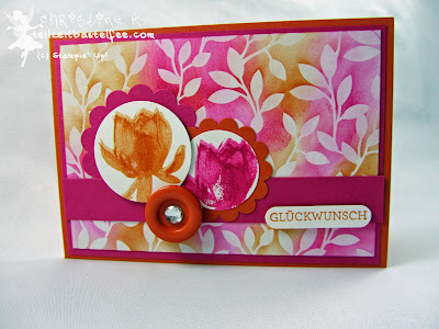 Stampin' Up! - In{k}spire_me #185,  Sketch Challenge, So froh, Eins für alles, And many more, DP Zauberhaft, sale-a-bration, Lotus Blossom, DSP Irresistibly Yours