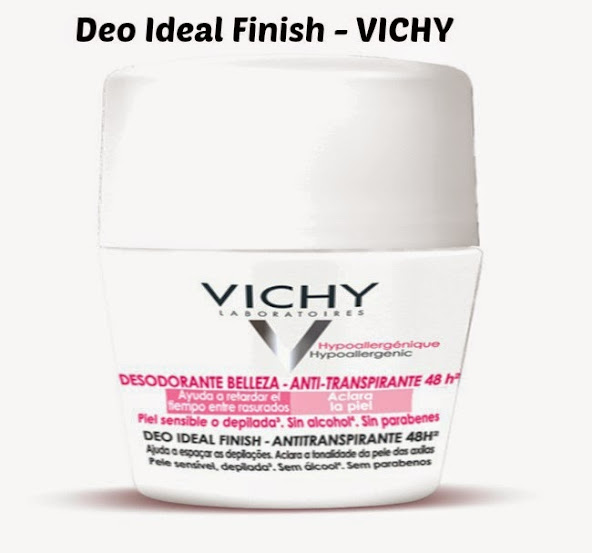 Desodorante dermatológico Vichy Deo Ideal Finish