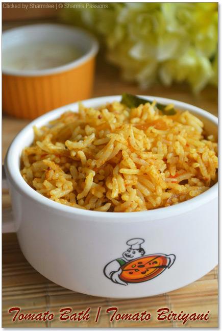 Tomato Biriyani Recipe