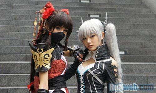 Kiều nữ Miyuko hút hồn với cosplay Cyphers 2