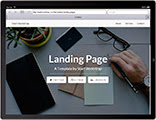 Free Bootstrap Themes Tablet Preview