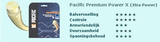 Pacific Premium Power X (Xtra Power, Gevoel en demping)