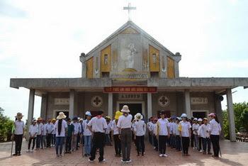 Giáo xứ Như Tân - Sa mạc huấn luyện TNTT