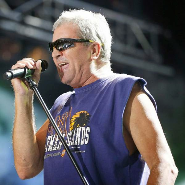 Singer Ian Gillan of 'Deep Purple' performs on stage of the Nice Jazz Festival on July 10, 2014 in Nice, southeastern France.