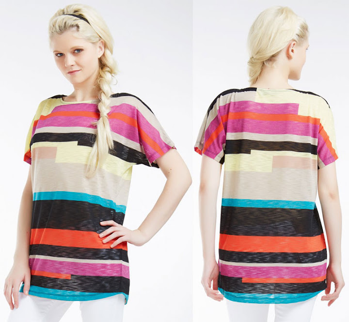 Áo thun nữ thời trang Sophie Padru