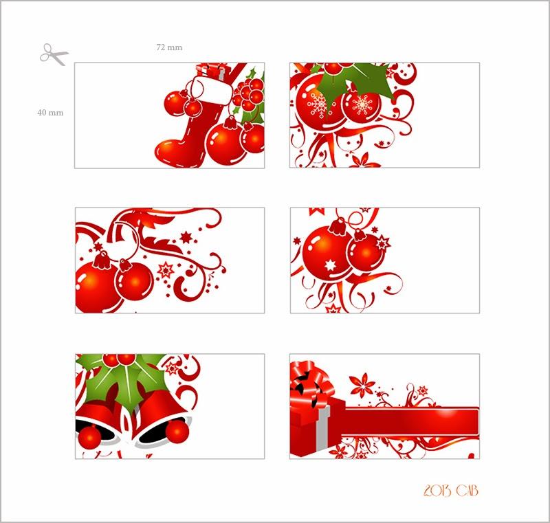 testclod: Des mini cartes de Noël, à imprimer
