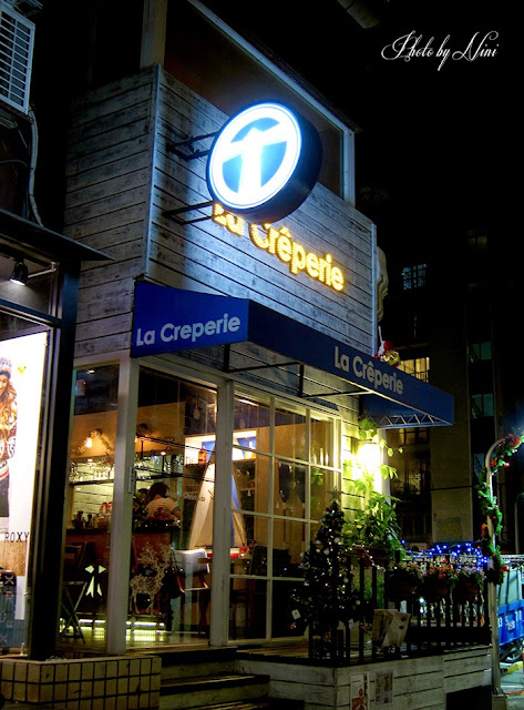 【台北東區】La Creperie Taipei。充滿濃厚異國風味的法式薄餅餐廳
