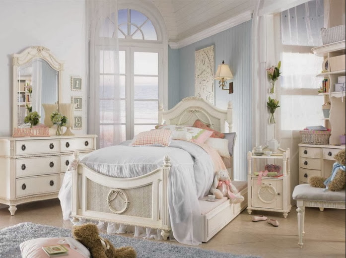 Shabby chic bedroom ideas for teenage girls for Chic bedroom ideas for teenage girls