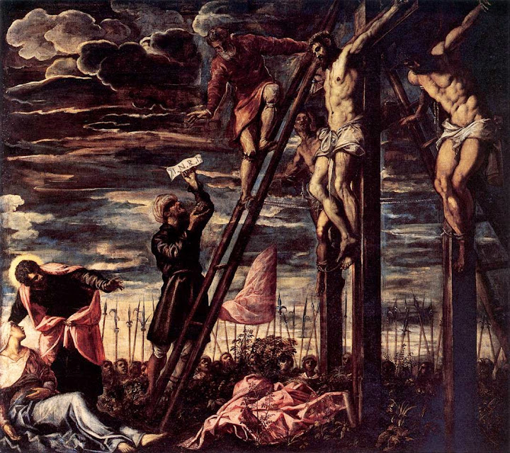 Tintoretto - The Crucifixion of Christ