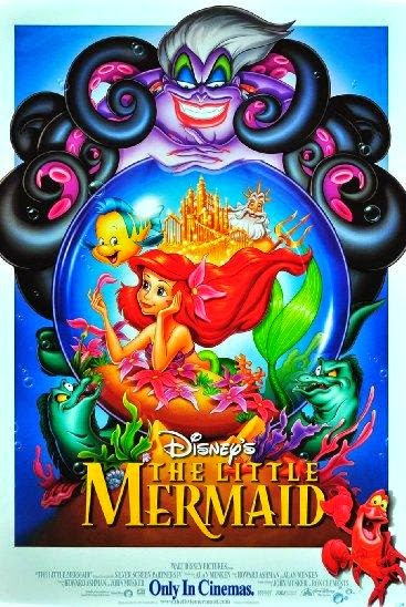 Poster Of The Little Mermaid (1989) Full Movie Hindi Dubbed Free Download Watch Online At Alldownloads4u.Com