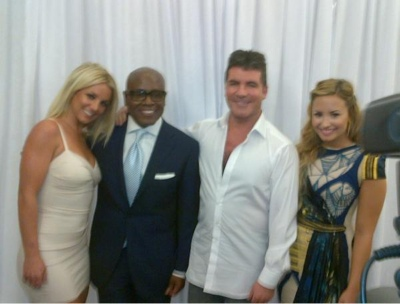Britney Spears and Demi Are The New Judges of X-Factor