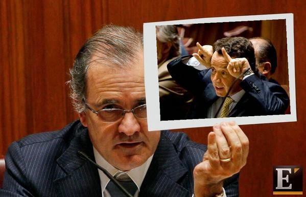 Cartoons - Pires de Lima - Ministro da Economia