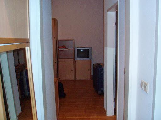 3か月間暮らした部屋
