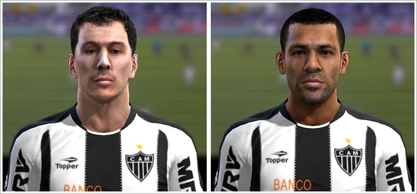 Leandro Donizete e Pierre Faces - PES 2012