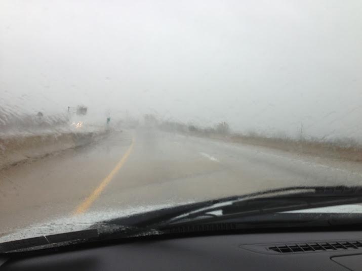 Rain from Sandy