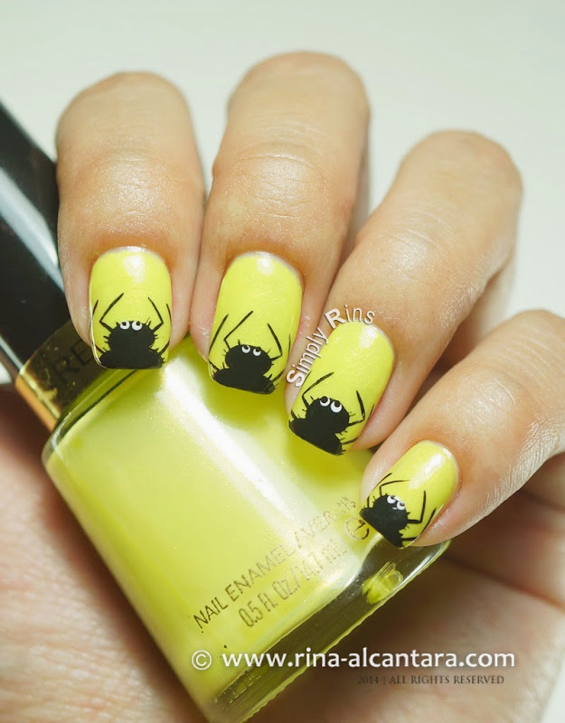 Itsy Bitsy and Hairy Spiders on Revlon Zealous