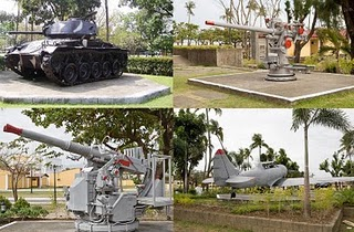 The World War II Memorabilia Ground Site in Lingayen