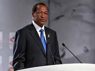 Blaise Compaore, le chef de l'Etat du Burkina Faso (Photo presidence.bf)