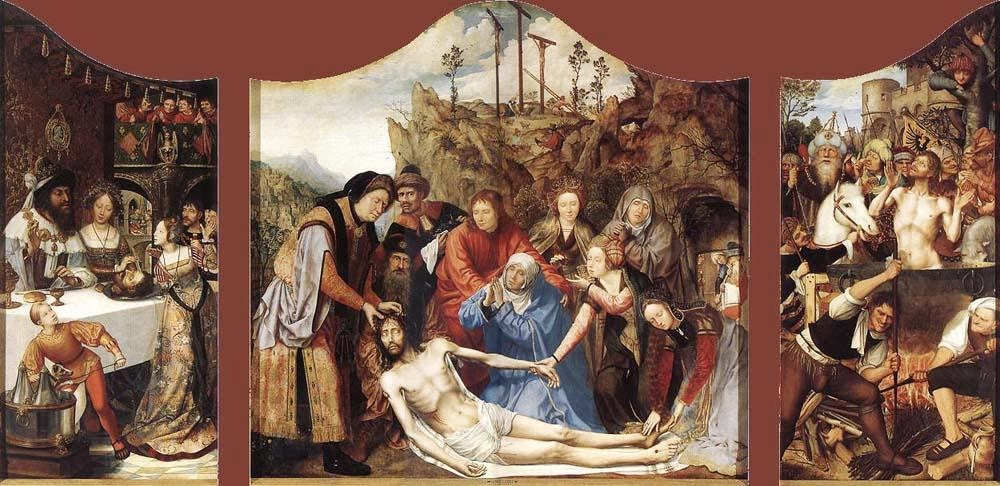 Quentin Massys - Saint John Altarpiece