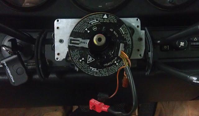 993 RS Steering Wheel Installed - wiring photos - Rennlist