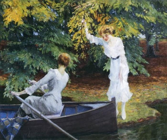 Edward Cucuel - By The Lake