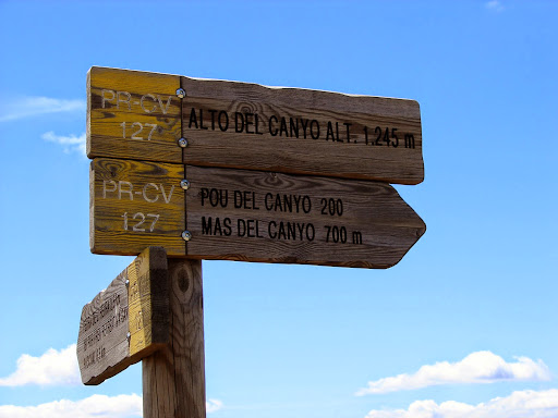 Senderismo: La Font Roja