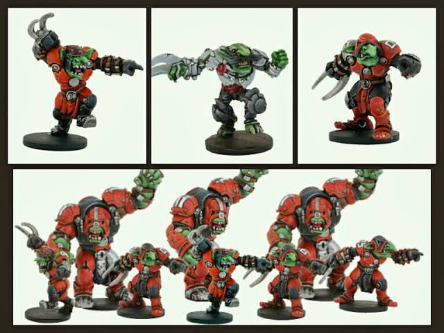 Equipo Marauders Mantic Dread Ball
