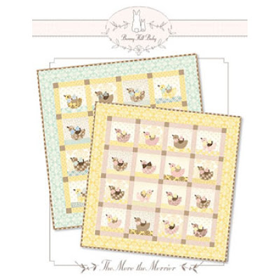 Bunny Hill Designs THE MORE THE MERRIER Quilt Pattern