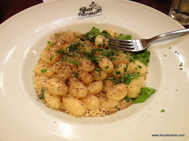 Gnocchi with Gorgonzola Cheese