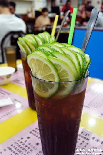香港金寶茶餐廳凍檸檬紅茶