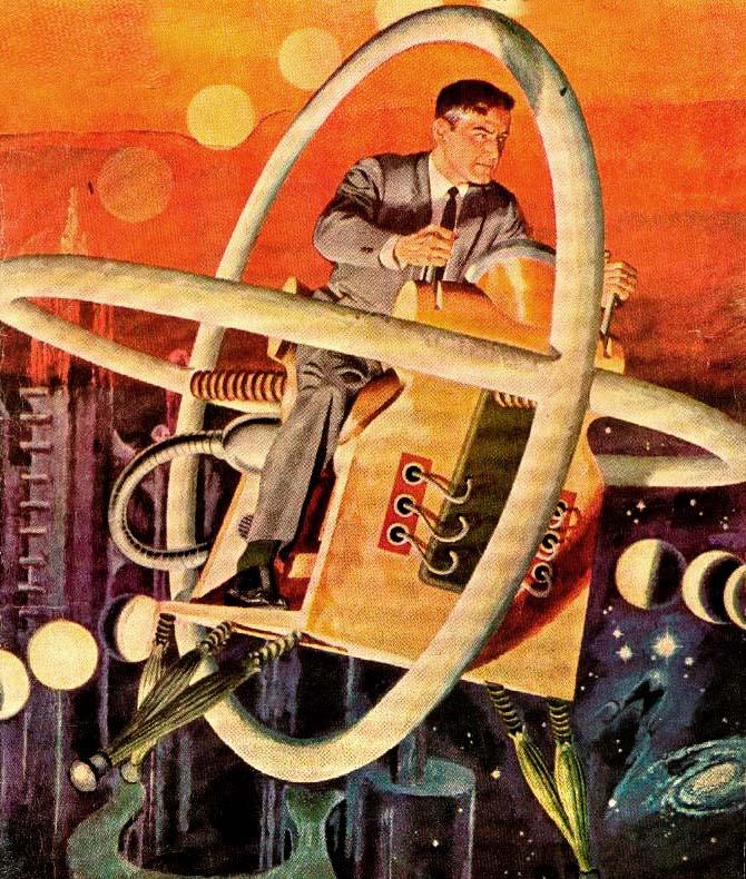 Vintage Sci Fi Illustrations Retro Science Fiction: Designer, Diretor De Arte, Professor