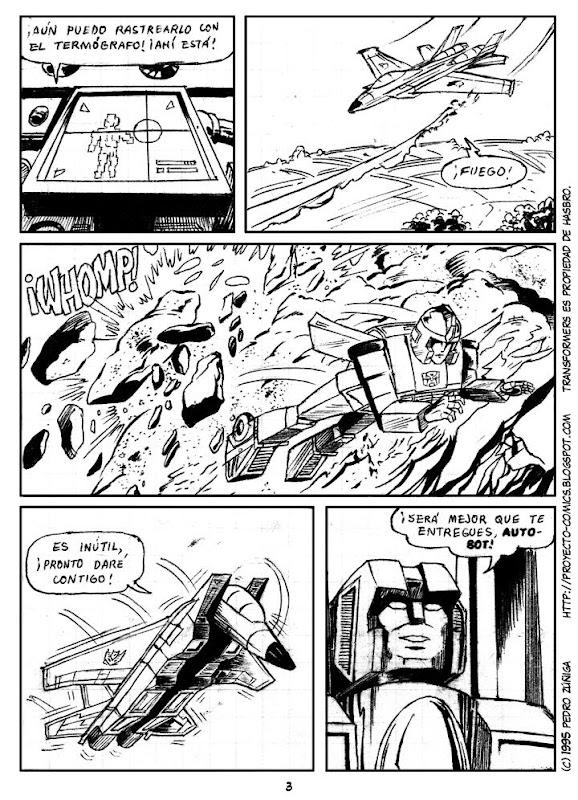 Proyecto Comics - Transformers - Como caído del cielo 03