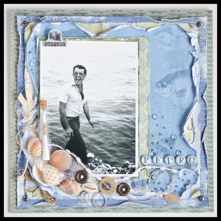 SCRAPBOOKING: LAYOUT MARINERO