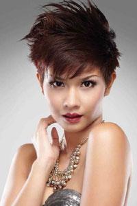 VhieOne Granger Alzena Trend Shortie Rambut Pendek Yang Kembali - Gaya rambut pendek rihanna