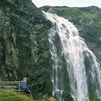Adelboden Engstligenfall Berner Oberland Schweiz