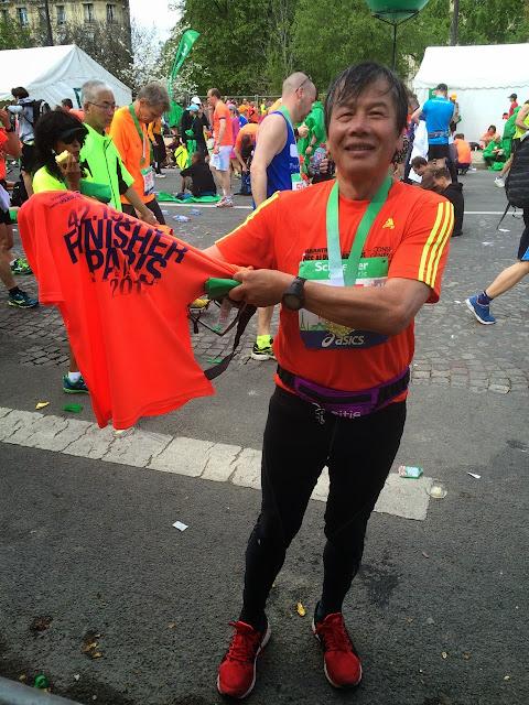 Marathon Paris Finisher